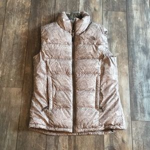 The North Face Brown Puffer Vest